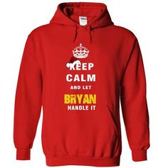 Keep Calm And Let BRACAMONTE Handle It - #floral tee #hipster tshirt. BUY-TODAY => https://www.sunfrog.com/Names/Keep-Calm-And-Let-BRYAN-Handle-It-7733-Red-Hoodie.html?68278