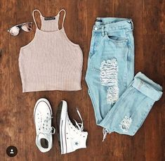 Teen fashion outfits, new outfits, everyday outfits, cute fashion, fashion Cute Teen Outfits, Cute Comfy Outfits, Teenage Outfits, Cute Summer Outfits, Teen Fashion Outfits, Outfits For Teens, Pretty Outfits, Stylish Outfits, Girl Outfits