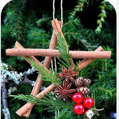 Recycle Reuse Renew Mother Earth Projects: How to Make Cinnamon Stick Pentacle Star