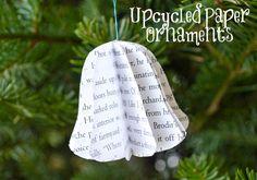 Cousez du papier pour vos décos de Noël « Blog de Petit Citron