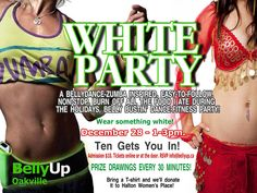 Get your body revved and inspired at our White Party!