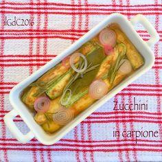 il giardino dei ciliegi: Ricette delle Langhe: Zucchini in carpione, cusot ...