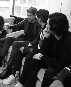 Sometimes Adam and Oscar think Domhnall is entertaining…lol