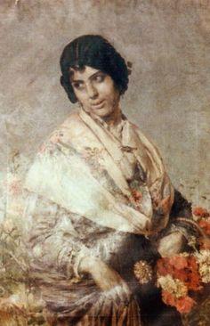 Valencianas Pintadas: Antonio Cortina Farinós (Valencia, 1841 - 1890)