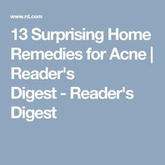 13 Surprising Home Remedies for Acne | Reader's Digest-Reader's Digest