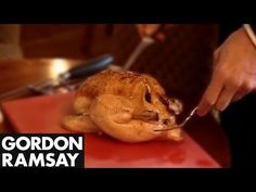 How to Carve a Chicken - Gordon Ramsay - YouTube