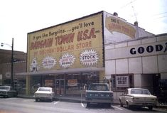 Who remembers this first location of Bargain Town USA in Pell City, Alabama?  By the time we moved to town, it was in the shopping center on Cogswell.
