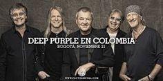 El viernes 21 de noviembre no te puedes perder La banda de Rock Deep Purple que se presentará en el Coliseo Cubierto el Campín. #concierto #armatuplan#look4plan  Para todos los fanáticos que pensaban que la banda acabaría tras la muerte de John Lord.