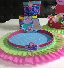 Resultado de imagen para centros de mesa de peppa pig Circus Birthday, Birthday Parties, Pig Birthday, Peppa E George, Aniversario Peppa Pig, Cumple Peppa Pig, Pig Party, Ideas Para Fiestas, My Little Pony