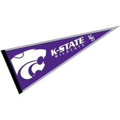 Kansas State University Pennant consists of our full size sports pennant which measures 12x30 inches, is constructed of felt, is single sided imprinted, and offers...