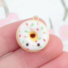 #kawaii #charms #polymer #clay #donut