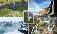 Breathtaking waterfalls pictured from Iceland to the rainforests of South America   Daily Mail Online