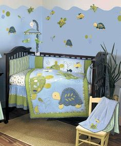 Turtle Nursery Theme Ideas for a Baby Boy or Girl Nursery DIY Decor and Bedding