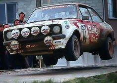 Mk2 Escort Ford Rs, Car Ford, Sports Car Racing, Sport Cars, Wheel In The Sky, Ford Motorsport, Rally Raid, 4x4, Classic Race Cars