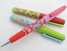 Agatha Ruiz de la Prada Rollerball Pens   Flickr - Photo Sharing!