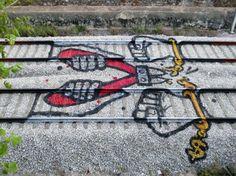 Bunte Eisenbahngleise, Artur Boraldo