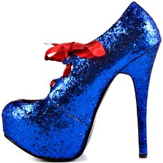 Sin City - Blue Glitter  Viva Bordello $84.99