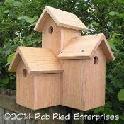 STEQUALEHO birdhouse kit from The Birdhouse Depot.