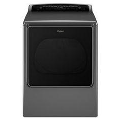 WED8500DC Whirlpool® 8.8 cu. ft. Cabrio® High-Efficiency Electric Steam Dryer (Chrome Shadow $960; White $970)