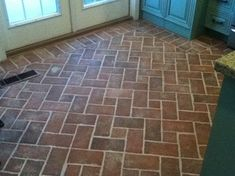 Entryways and hallways - Inglenook Brick Tiles - thin brick flooring, brick pavers, ceramic brick tiles