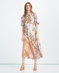 PRINTED DRESS-View All-DRESSES-WOMAN | ZARA United States