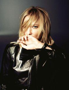 """Cate Blanchett, bientôt sur scène avec Isabelle Huppert à Sydney dans """"Les Bonnes"""" d'après Jean Genet."""