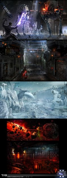 Concept art, Star Wars: The Force Unleashed II
