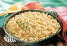 Cooking rice in broth instead of water ensures fabulous flavor and delicious results.  Try it- we bet you'll never cook rice with water again!