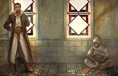 Malik and Altair by godforget.deviantart.com on @DeviantArt