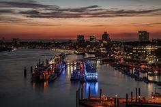 Fototippsfür Nachtaufnahmen: Die Farben des Hamburger Hafens - SPIEGEL ONLINE - Netzwelt