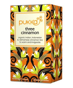 Pukka is my favorite tea ever - and THIS Three Cinnamon is my favorite flavor! So yummy.