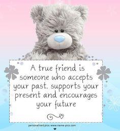 Vriendschap die ik ook ken!