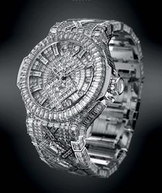$5 million diamond watch.