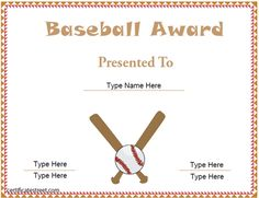Baseball certificate of appreciation template baseball certificate baseball certificate template yadclub Choice Image
