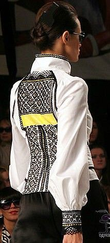 Ukraine, from Iryna Folk Fashion, Ethnic Fashion, Womens Fashion, Embroidered Clothes, Embroidered Tunic, Ukraine, Ethno Style, Traditional Fashion, Embroidery Fashion