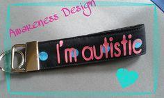"Schlüsselband ""I'm autistic"""