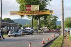 Beginning of the Cheaha Challenge.