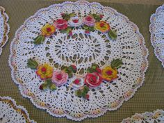 Made to order crochet doily by KroneCrochet on Etsy, $65.00