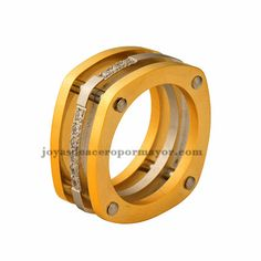 10mm stainless steel fashion men' s ring on sale-SSRGG831272