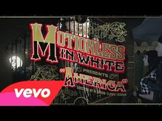 """Motionless In White - America  ♪♫♪ """"Living one big nightmare, the ugly truth has a model face... Making saints out of useless pop stars... Where's the intelligence?!!!  A-M-E-R-I-C-A  Home of the free, the sick and depraved..!!!"""" ♪♫♪  Directed by M. Shawn """"Clown"""" Crahan of Slipknot"""