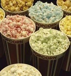 Variety of popcorn recipes