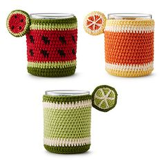 Look what I found at UncommonGoods: Fruit Glass Koozie for $18.00