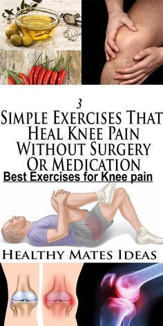 Natural Cures for Arthritis Pain - - 3 Simple Exercises That Heal Knee Pain Without Surgery Or Medication! Arthritis Exercises, Rheumatoid Arthritis Treatment, Knee Arthritis, Arthritis Remedies, Yoga, Natural Cure For Arthritis, Natural Cures, Knee Strengthening Exercises, Physical Therapy