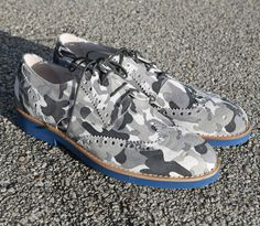 Men's Arctic Freeze Camo Wingtip