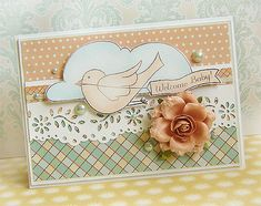 {Welcome Baby!} - card - Scrapbook.com
