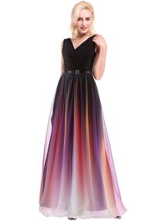 Prom / Formal Evening Dress Ball Gown V-neck Floor-length Chiffon / Charmeuse with Beading / Draping / Lace / Sash / Ribbon / Side Draping - GBP £59.83 ! HOT Product! A hot product at an incredible low price is now on sale! Come check it out along with other items like this. Get great discounts, earn Rewards and much more each time you shop with us!