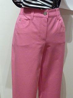Basler Pink Zebra Jeans 46 Peony