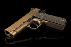 Here is the Bronze Fusion Pro-Series 1911. #fusionfirearms #1911 #45acp #pewpew #guns #aegistactical #70series