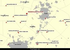 cool Map of Pedernales