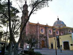 Templo del Encino. Barrio del Encino. Aguascalientes, Ags.